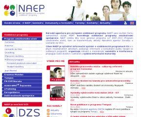 Náhled odkazu http://www.naep.cz