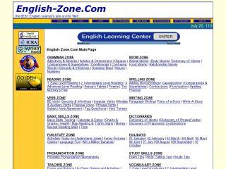 Náhled odkazu http://www.english-zone.com