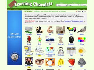 Náhled odkazu http://www.learningchocolate.com/