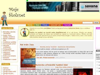 Náhled odkazu http://mojeskola.net/
