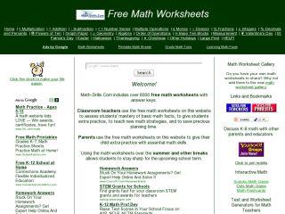 Náhled odkazu https://www.math-drills.com/