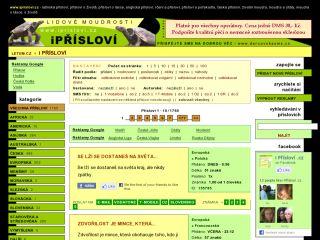 Náhled odkazu http://www.iprislovi.cz