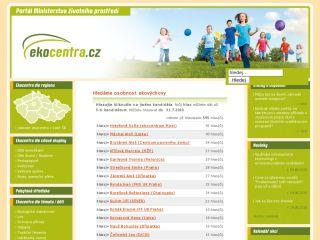 Náhled odkazu http://www.ekocentra.cz/