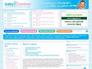 Náhled odkazu http://www.babyonline.cz/akcni-svet-deti/vzdelani/skolni-zralost