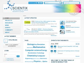 Náhled odkazu http://www.scientix.eu
