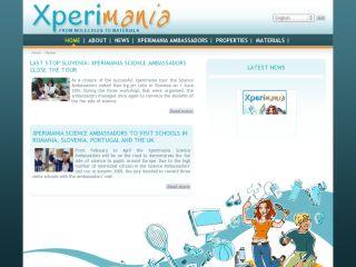 Náhled odkazu http://www.xperimania.net/ww/en/pub/xperimania/homepage.htm