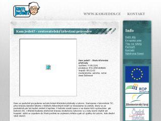 Náhled odkazu http://www.kamjedes.cz/