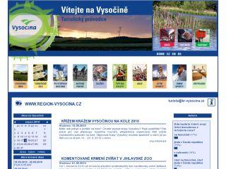 Náhled odkazu http://www.region-vysocina.cz