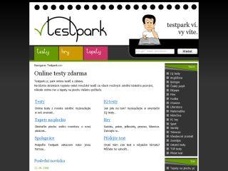 Náhled odkazu http://www.testpark.cz