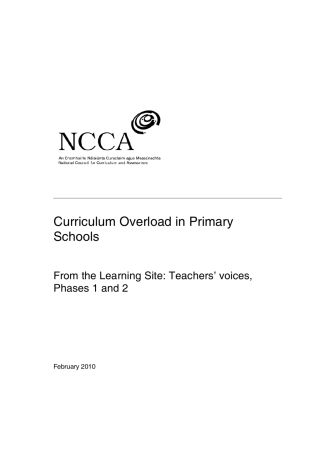 Náhled odkazu http://ncca.ie/en/Publications/Reports/Curriculum_overload_in_Primary_Schools_An_overview_of_national_and_international_experiences.pdf