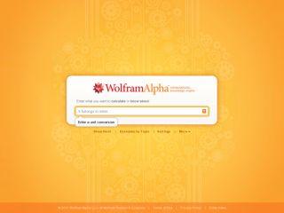 Náhled odkazu http://www.wolframalpha.com/