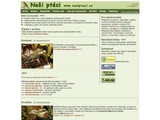 Náhled odkazu http://www.nasiptaci.info/