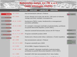 Náhled odkazu http://www.butbn.cas.cz/