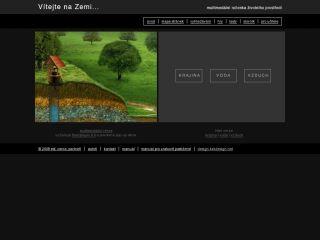Náhled odkazu http://vitejtenazemi.cenia.cz/index.html