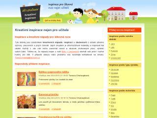 Náhled odkazu http://kreativni-inspirace.skola-loucany.cz/