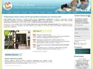 Náhled odkazu http://www.ferovaskola.cz/uvod