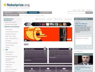 Náhled odkazu http://www.nobelprize.org/educational/medicine/mri/index.html