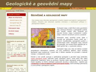 Náhled odkazu http://www.geologicke-mapy.cz