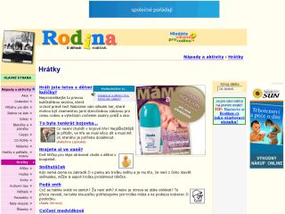 Náhled odkazu http://www.rodina.cz/rubrika/hratky