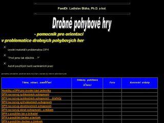 Náhled odkazu http://pf.ujep.cz/~blaha/dphsopuv.htm