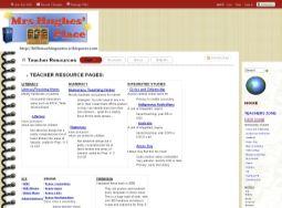 Náhled odkazu http://billsteachingnotes.wikispaces.com/Teacher+Resources