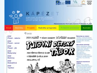 Náhled odkazu http://www.kapezet.cz/