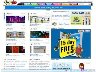 Náhled odkazu http://www.toondoo.com/