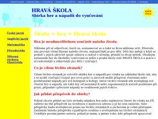 Náhled odkazu http://hravaskola.ic.cz/