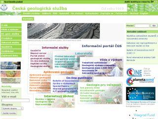 Náhled odkazu http://www.geology.cz/