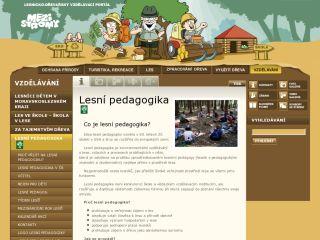 Náhled odkazu http://www.lesnipedagogika.cz