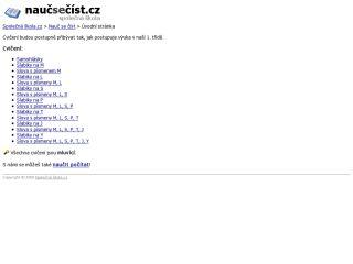 Náhled odkazu http://www.naucseonline.cz/