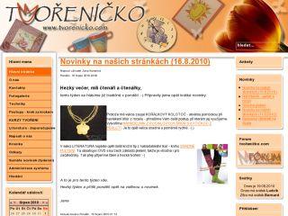 Náhled odkazu http://www.tvorenicko.com/
