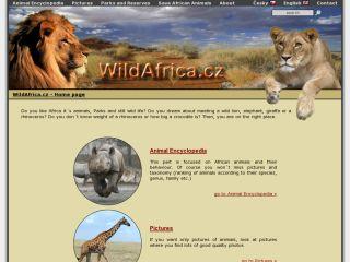 Náhled odkazu http://www.wildafrica.cz/cs/