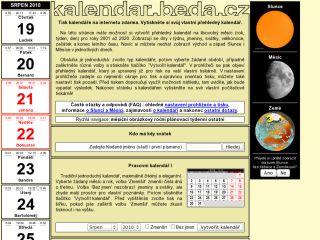 Náhled odkazu http://kalendar.beda.cz/