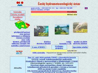 Náhled odkazu http://portal.chmi.cz/