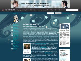Náhled odkazu http://www.ceskatelevize.cz/porady/0-vecernicek/5626-historie-vecernicku/