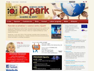 Náhled odkazu http://www.iqlandia.cz/cz/iqpark