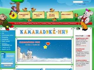 Náhled odkazu http://www.kamaradske-hry.cz/