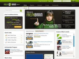 Náhled odkazu http://www.freshbrain.org/