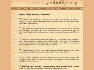 Náhled odkazu http://www.pohadky.org/