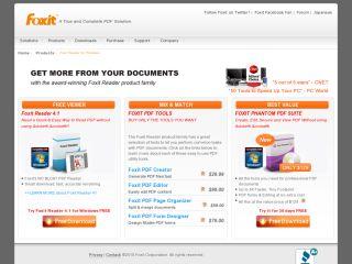 Náhled odkazu https://www.foxitsoftware.com/products/pdf-reader/