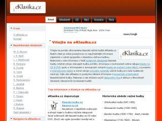 Náhled odkazu http://www.eklasika.cz/