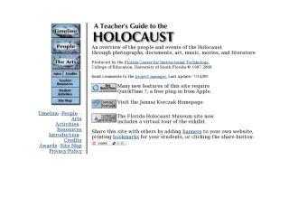 Náhled odkazu http://fcit.usf.edu/holocaust/