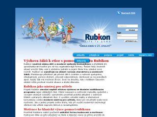 Náhled odkazu http://www.projekt-rubikon.eu/
