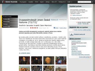 Náhled odkazu http://www.ceskatelevize.cz/porady/10169539755-dvaasedmdesat-jmen-ceske-historie/