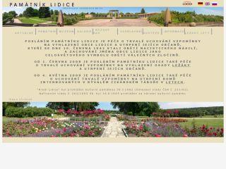 Náhled odkazu http://www.lidice-memorial.cz