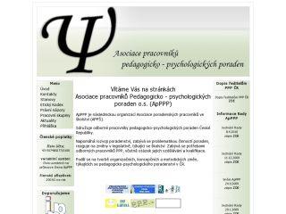 Náhled odkazu http://www.apppp.cz