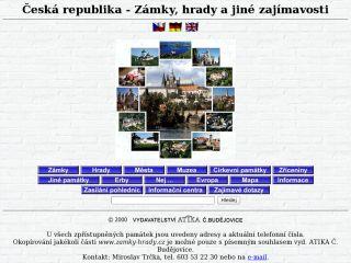 Náhled odkazu http://www.zamky-hrady.cz/