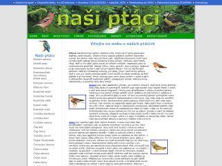 Náhled odkazu http://www.nasiptaci.ic.cz/index.html