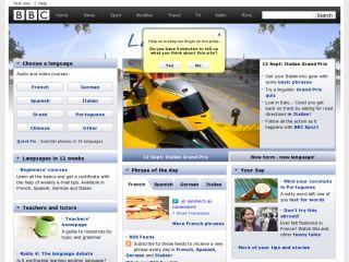 Náhled odkazu http://www.bbc.co.uk/languages/